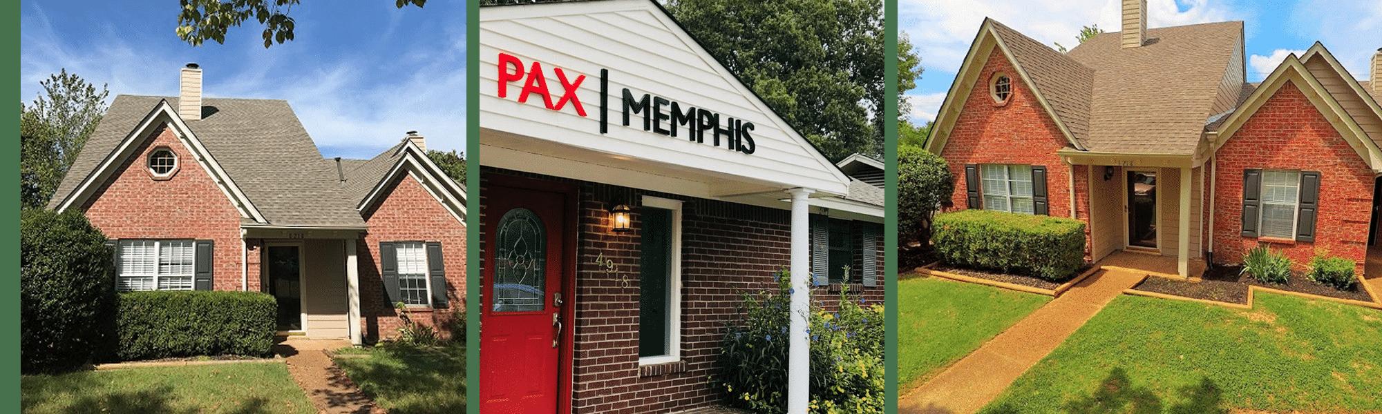 pax memphis recovery center banner
