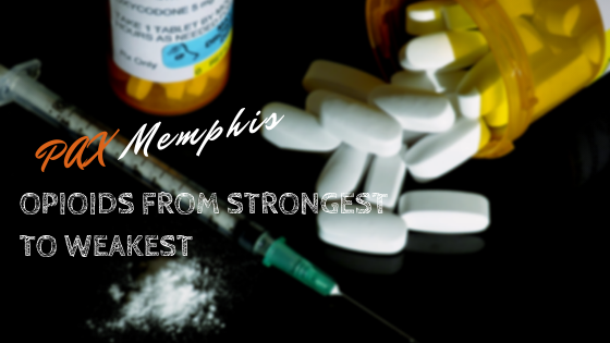 Opioids From Strongest to Weakest
