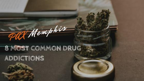 most common addictions