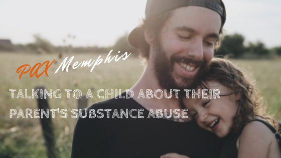 talking to kids about parent's substance abuse